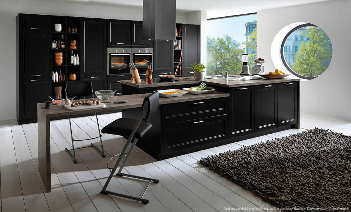 k chen m bel may. Black Bedroom Furniture Sets. Home Design Ideas